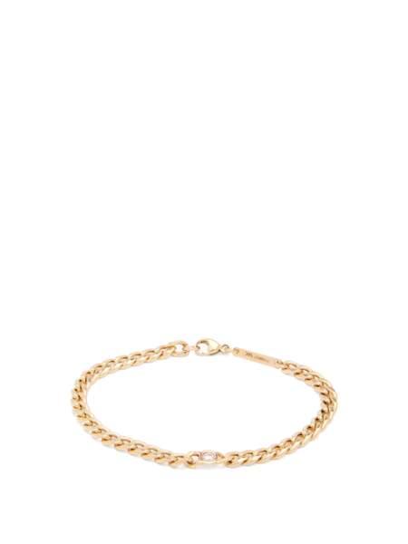 Bracelets en or 14 carats et diamants floating, 1024€, Zoë Chicco sur MatchesFashion