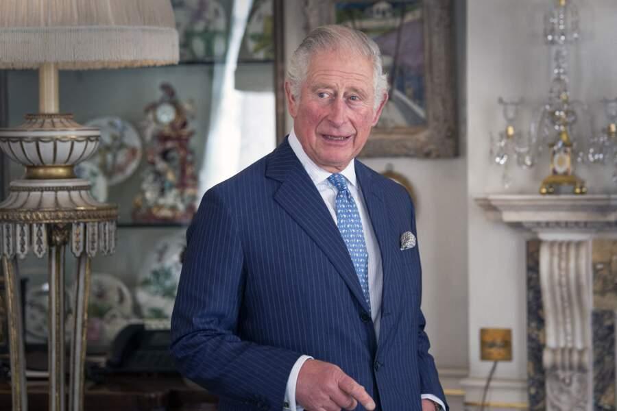 Le prince Charles dans sa résidence de Clarence House