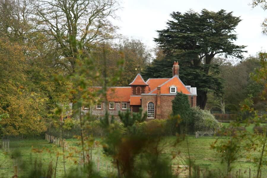 Anmer Hall, dans le Norfolk, la résidence du prince William et de Kate Middleton