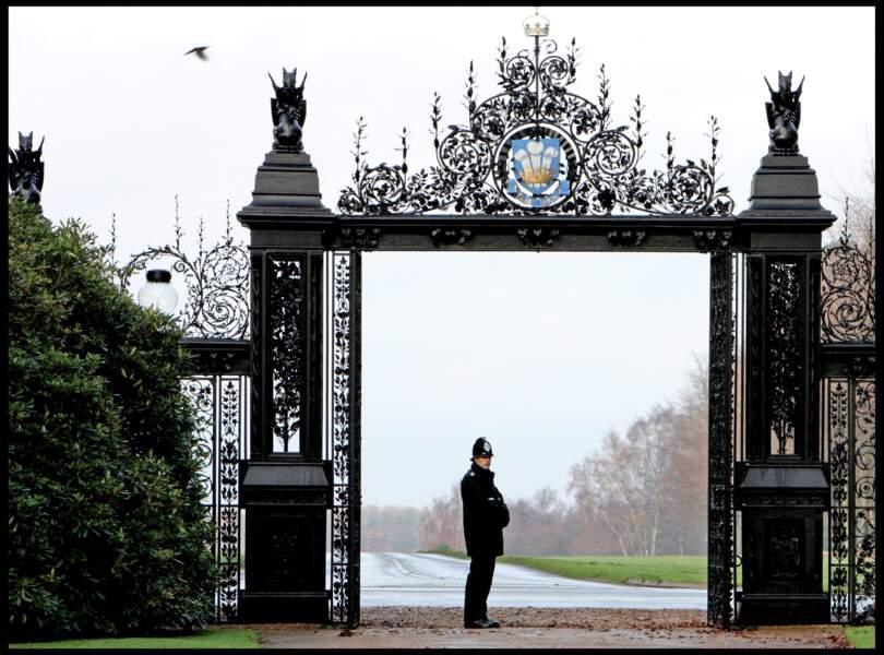 Le domaine de Sandringham, dans le Norfolk, résidence secondaire de la reine Elizabeth II