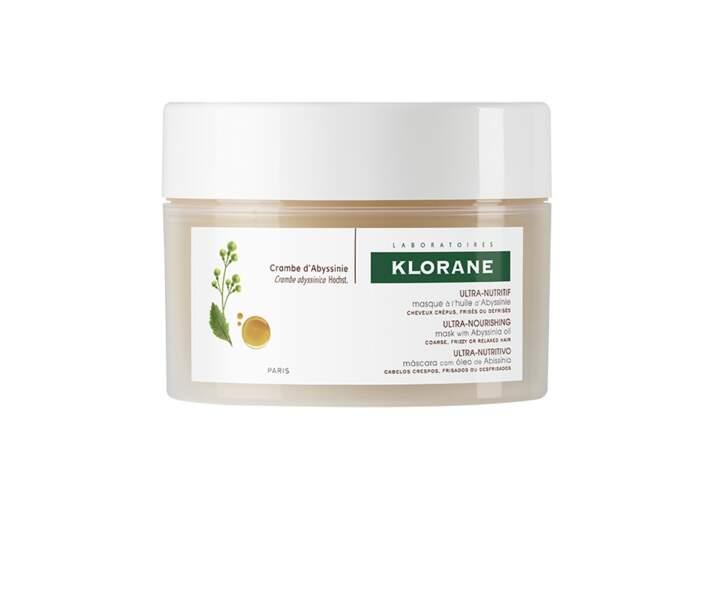 Masque à l'huile d'Abyssinie, Klorane, 17€