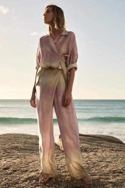 Pantalon portefeuille, Zara, 49,95 €