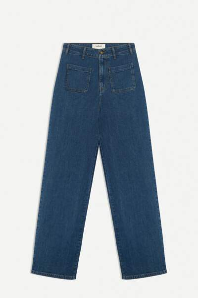 Jean vintage flare coupe large, 170€, Ba-sh