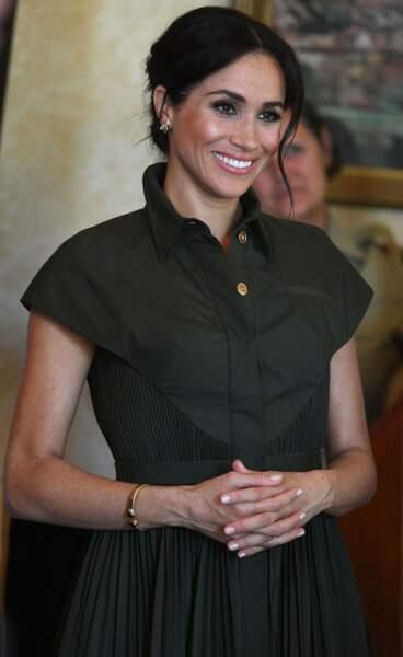 Meghan Markle, en Australie le 16 octobre 2018.