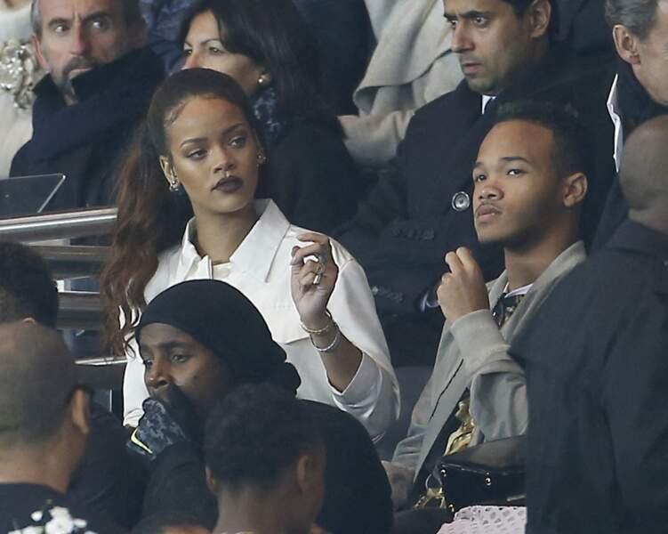 Rajad est le petit frère de Rihanna