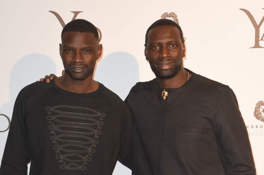 Djiby est le petit frère d'Omar Sy