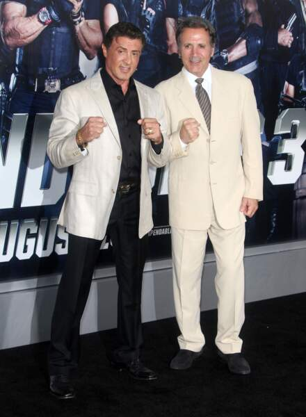 Franck Stallone est le frère de Sylvester