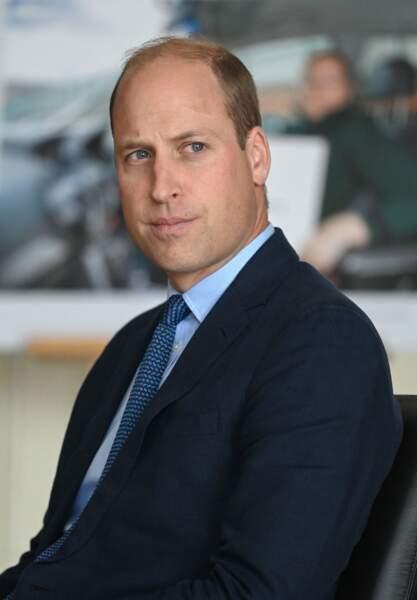 Le prince William, en Irlande du Nord, le 9 septembre 2020.