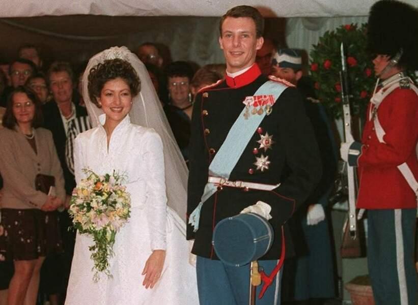 Mariage de Joachim du Danemark et d'Alexandra Manley à Hilleroed, le 18 novembre 1995.