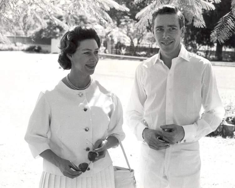 Antony Armstrong-Jones, Lord Snowdon et la princesse Margaret à Antigua en 1962.