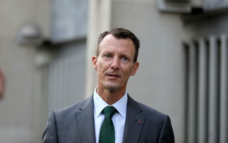 Joachim de Danemark à Paris, le 18 septembre 2020.