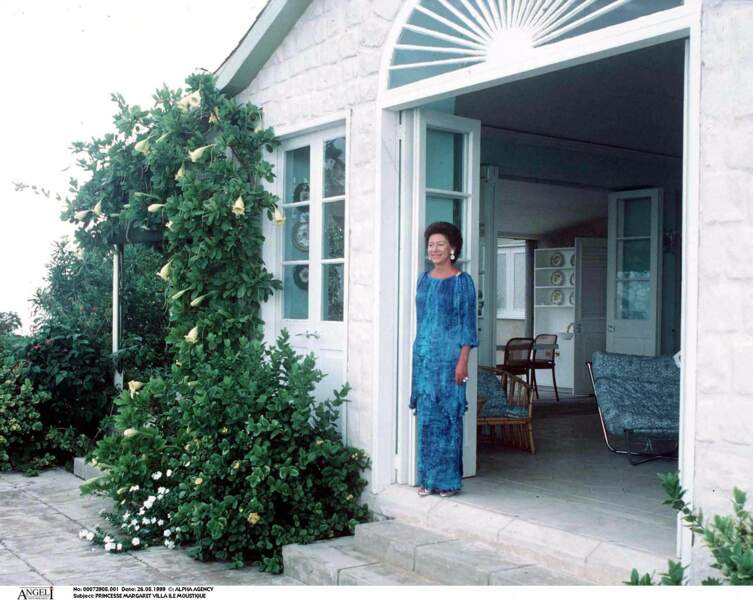 Princesse Margaret sur l'île Moustique.