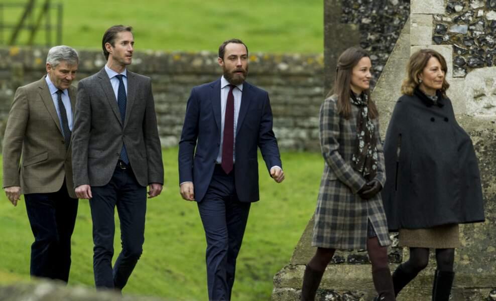 La famille de la future reine d'Angleterre