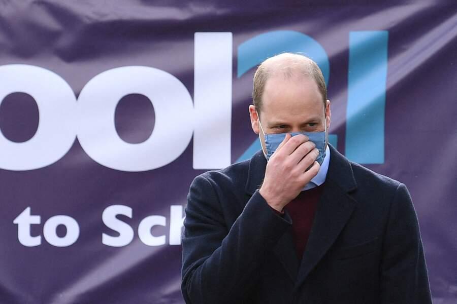 Le duc de Cambridge masqué