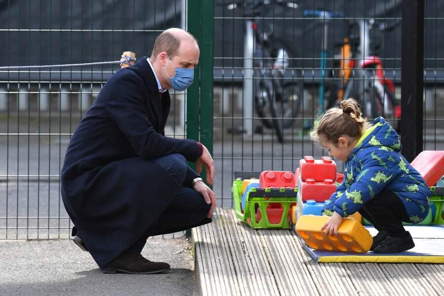 Le prince William prend la parole