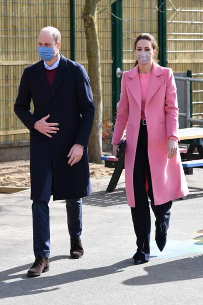 Première sortie de Kate Middleton et le prince William depuis l'interview de Meghan Markle et Harry