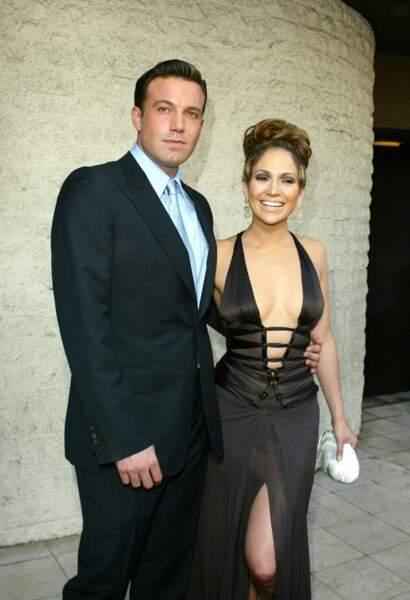 Jennifer Lopez et Ben Affleck en juillet 2003 à Los Angeles