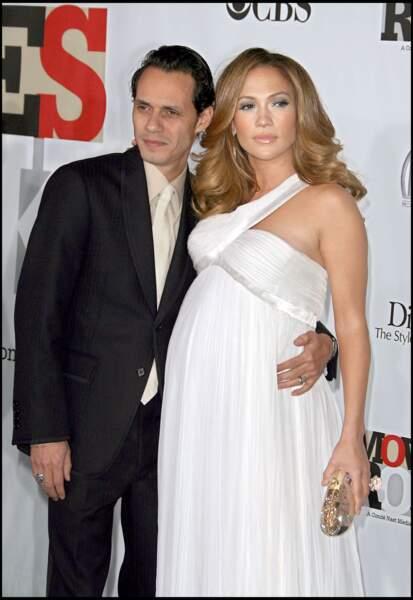 Jennifer Lopez et Marc Anthony, en décembre 2007 à Hollywood