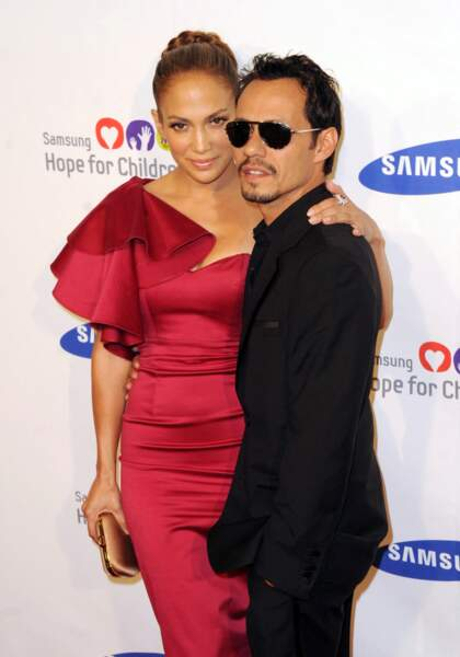 Jennifer Lopez et Marc Anthony en juin 2011 à New York