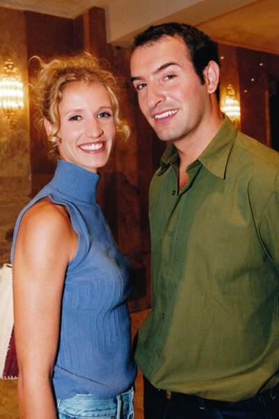 Jean Dujardin et Alexandra Lamy en 2000