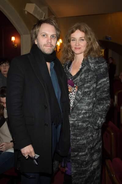 Florian Zeller et Marine Delterme en février 2018 à Paris