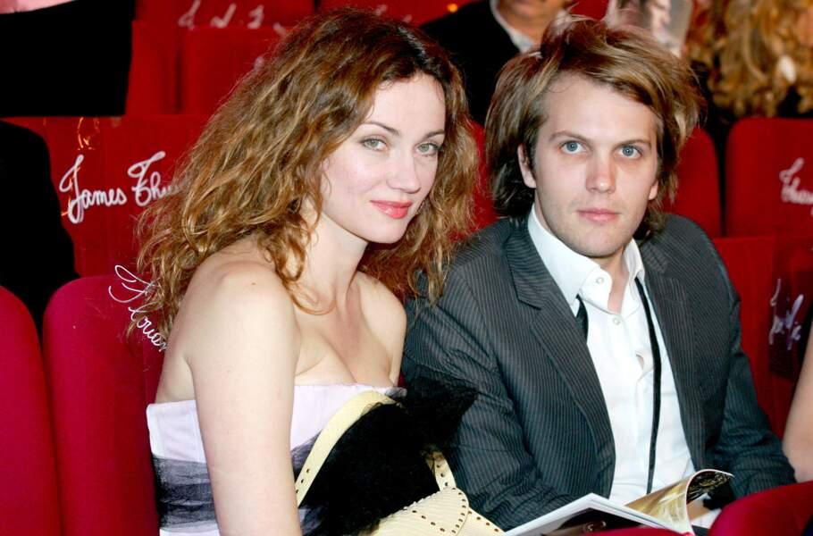 Florian Zeller et Marine Delterme aux Molières à Paris en 2007