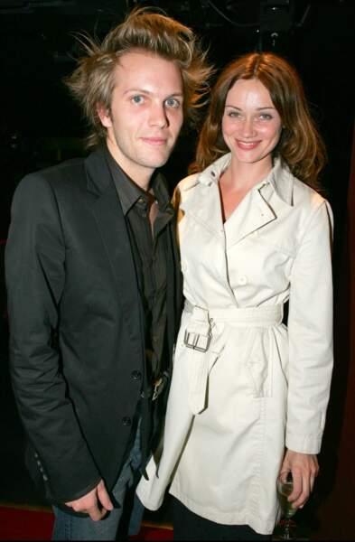 Florian Zeller et Marine Delterme en septembre 2004 à Paris