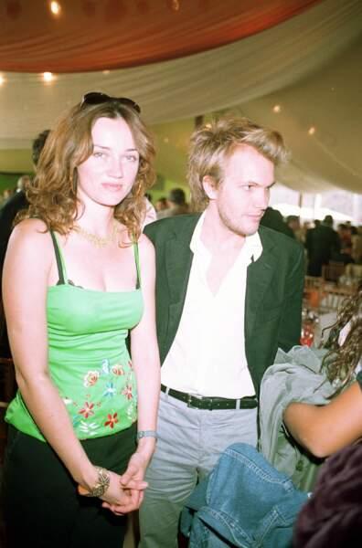 Florian Zeller et Marine Delterme en 2003 à Saint-Cloud