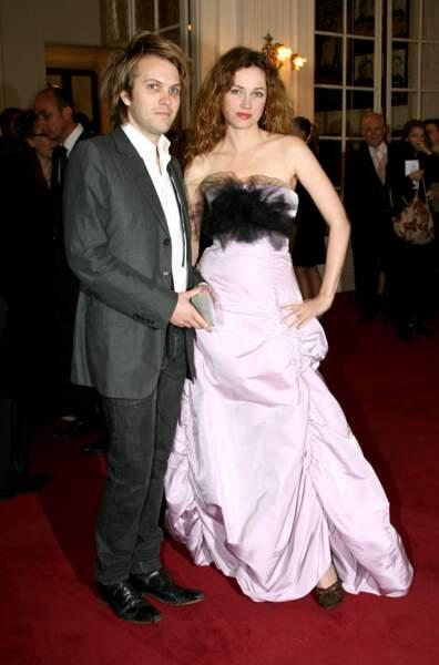 Florian Zeller et Marine Delterme aux Molières à Paris en mai 2007