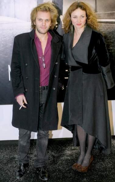 Florian Zeller et Marine Delterme en décembre 2005
