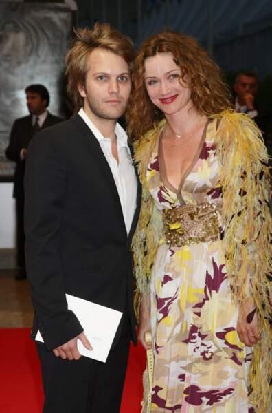 Florian Zeller et Marine Delterme au festival américain du film de Deauville en août 2007