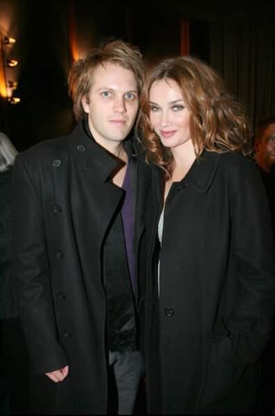 Florian Zeller et Marine Delterme à Paris en novembre 2009