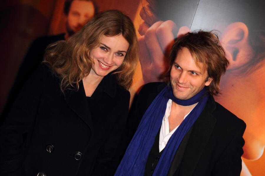 Florian Zeller et Marine Delterme à Paris en décembre 2011