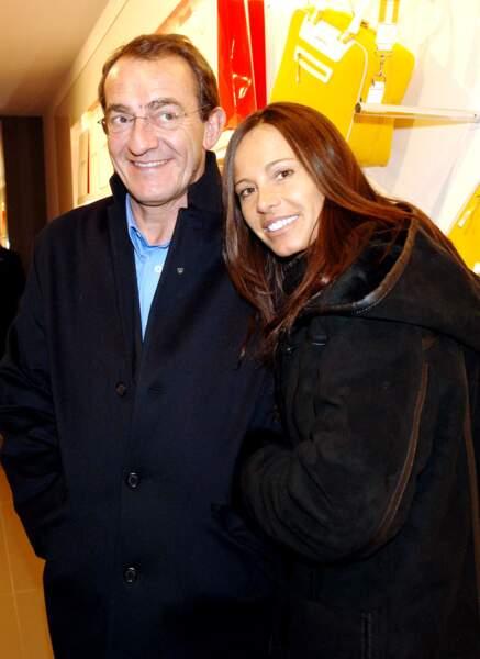 Jean-Pierre Pernaut et sa femme Nathalie Marquay Jean-Pierre Pernaut et sa femme Nathalie Marquay en 2008
