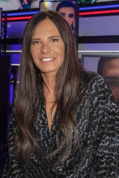 Nathalie Marquay-Pernaut lors de l'enregistrement de l'émission Touche Pas à Mon Poste, le 17 décembre 2020