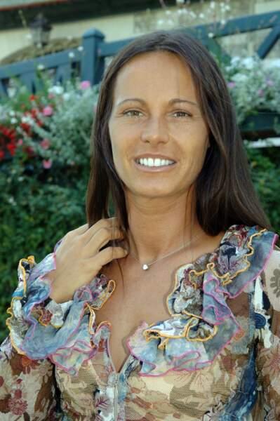 L'ex-Miss France Nathalie Marquay, en 2008