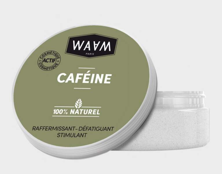 Actif Caféine, Waam, 5,50 € (waamcosmetics.com)