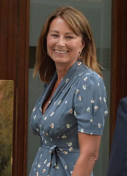 Carole Middleton le 23 juillet 2013