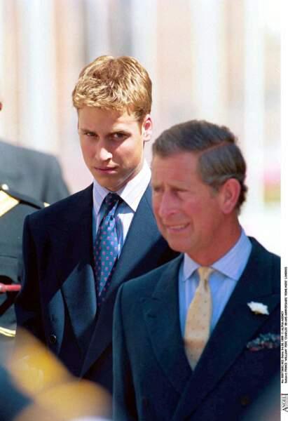 Harry et son père, le prince Charles