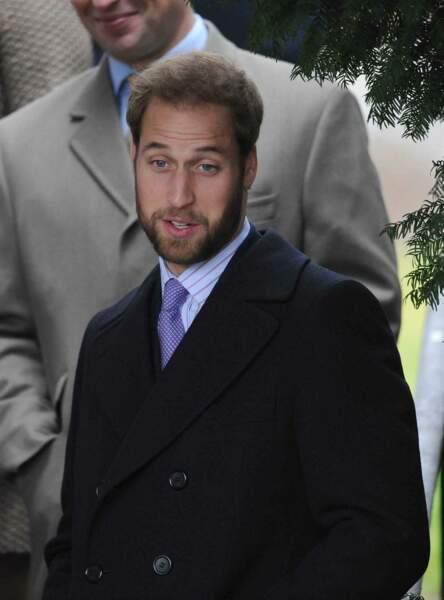 Le prince William à la messe