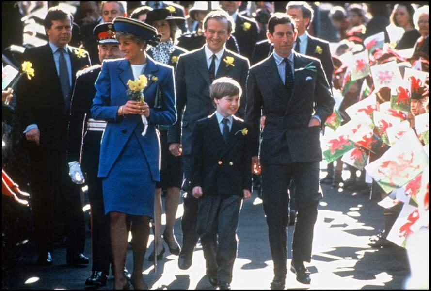Le prince William en déplacement