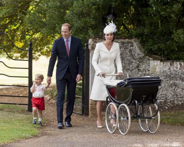 William, Kate, George ET Charlotte
