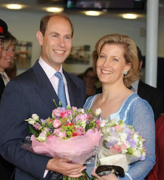 Le prince Edward et Sophie de Wessex le 19 juin 2009