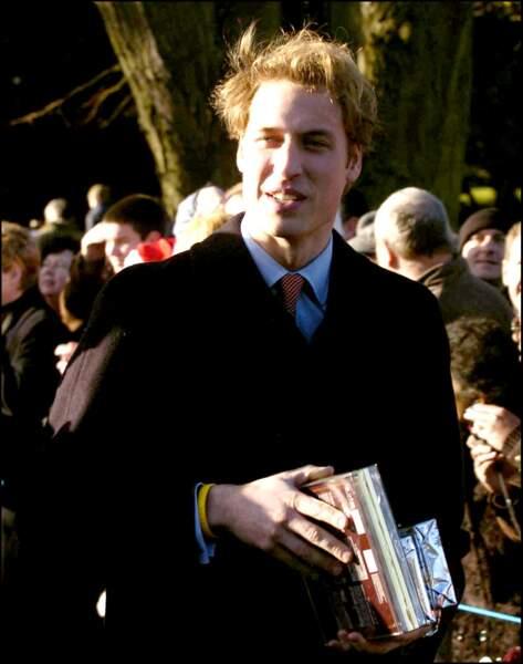 Le prince William le jour de Noël