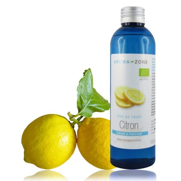 Hydrolat de Citron bio, Aroma-Zone, 100 ml, 2,90€, aroma-zone.com