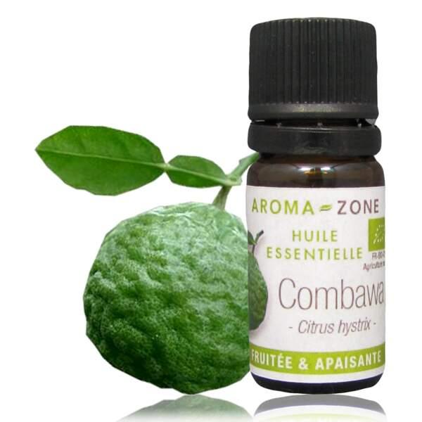 Huile essentielle de Combawa bio, Aroma-Zone, 5 ml, 4€, aroma-zone.com
