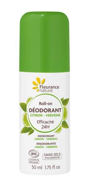 Déodorant Citron - Verveine Fleurance Nature, 4€95, sur www.fleurancenature.fr