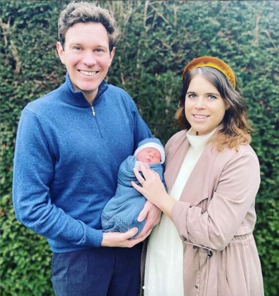 La princesse Eugénie, Jack Brooksbank et leur fils