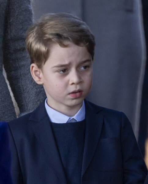 Le prince George, fils de William