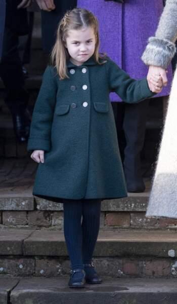 La princesse Charlotte, fille de William et Kate Middleton